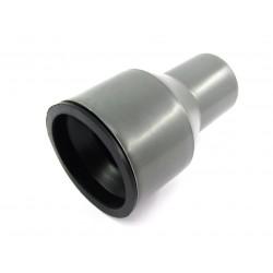 Conector PP trecere la fonta cu inel si garnitura D 50 x 72