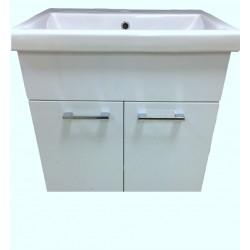 Mobilier baie QUATTRO Modena WHITE 60cm cu lavoar KF4560